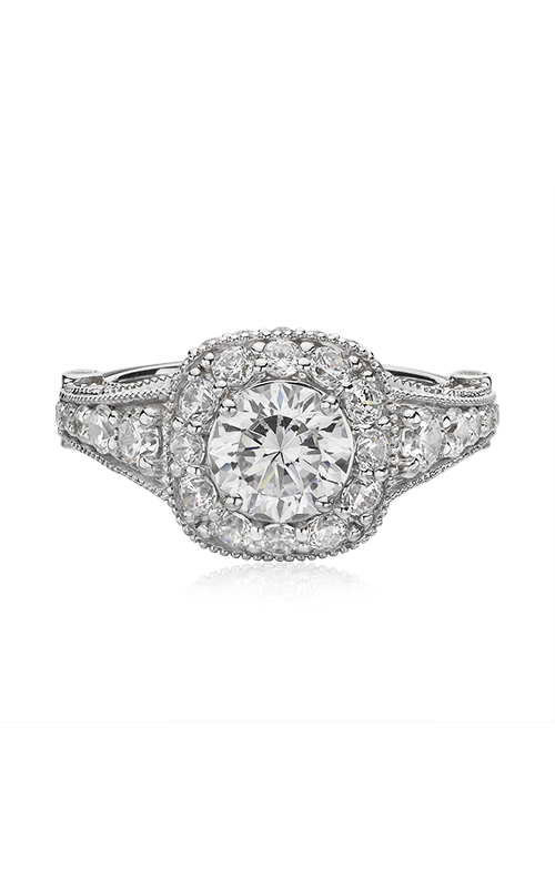 Christopher Designs Cushion Shaped Halo Design Engagement Ring G38-CURD100 product image