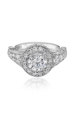 Christopher Designs Halo Design Engagement Ring G38-RD100 product image