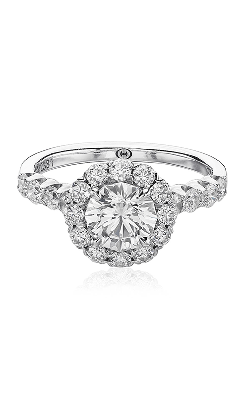Christopher Designs Halo Design Engagement Ring G52-RD075 product image