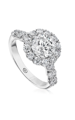 Christopher Designs Halo Design Engagement Ring G52-RD100 product image