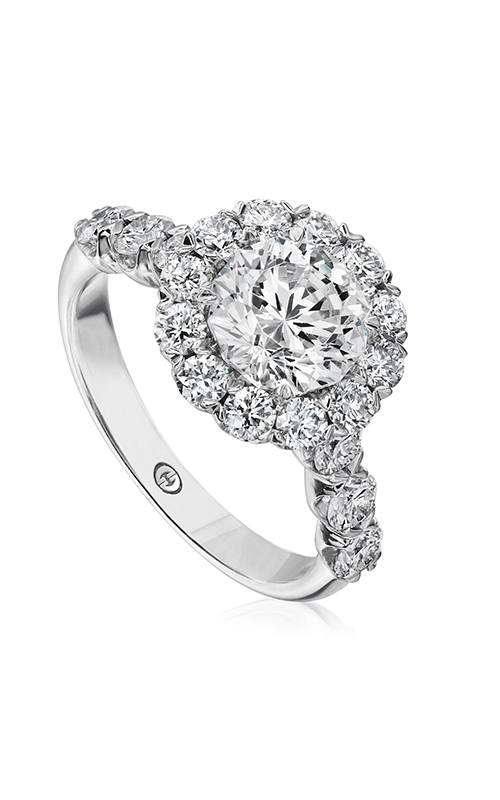 Christopher Designs Halo Design Engagement Ring G52-RD150 product image